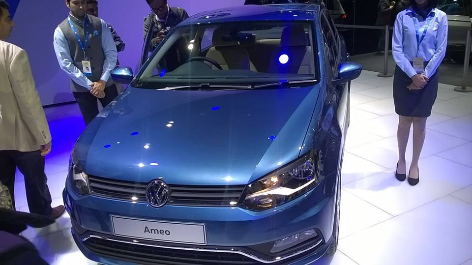 Началось серийное производство субкомпактного седана Volkswagen Ameo 1