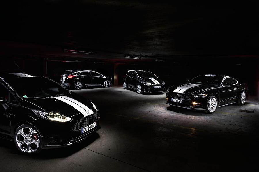 Компания Ford выпустит спецверсии сразу четырех моделей 2