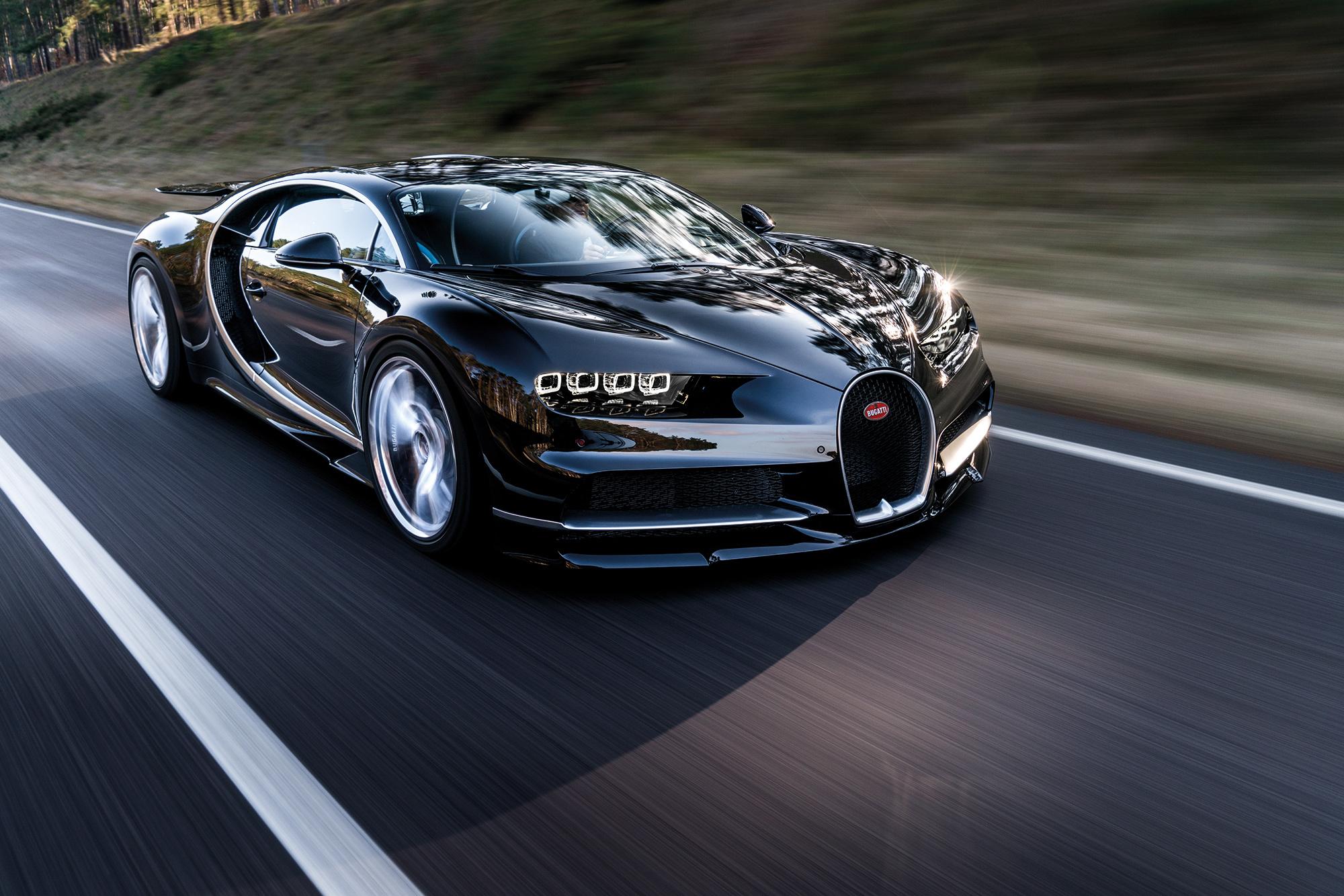 Bugatti поможет владельцам гиперкара Chiron разогнаться до 500 километров в час 1