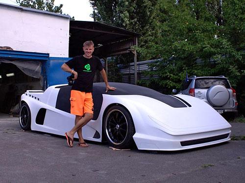 Как выглядит первый украинский суперкар 1