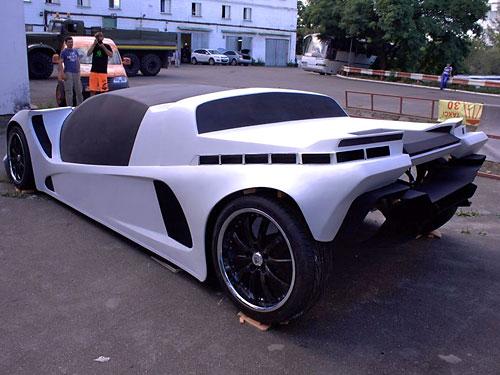 Как выглядит первый украинский суперкар 2
