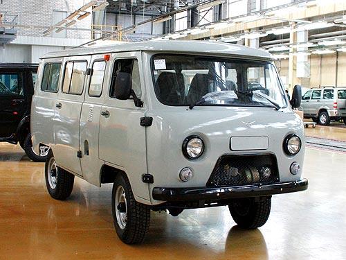 Впервые с 1965 года УАЗ обновит «буханку» 1