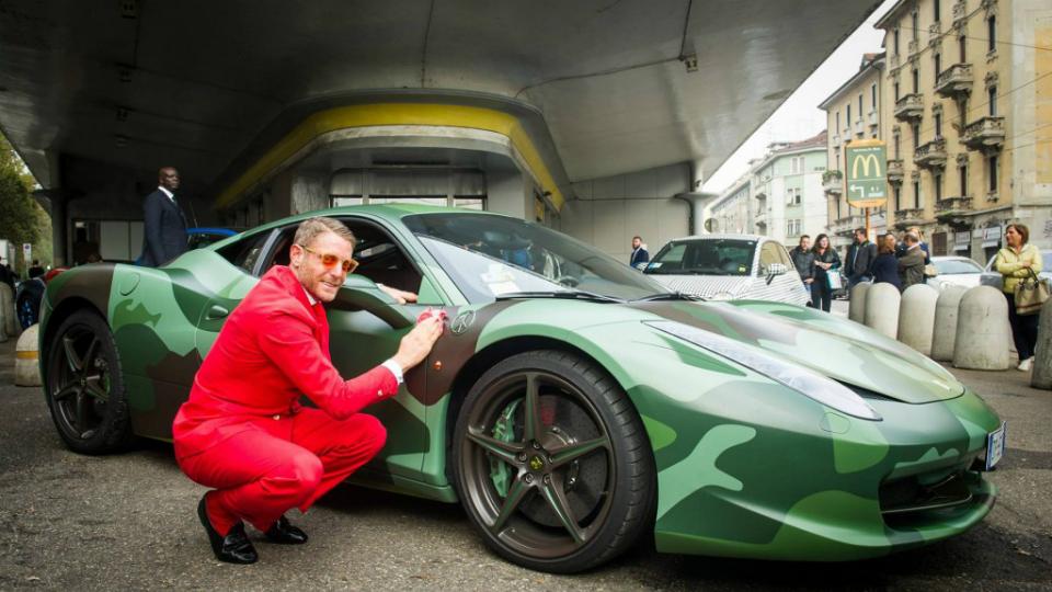 Эксклюзивный Ferrari был продан за 1,1 млн. долларов 2