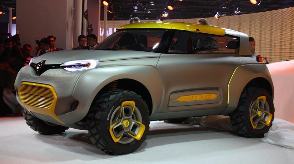 Новый хэтчбек Renault Kwid «запускают в серию» 2