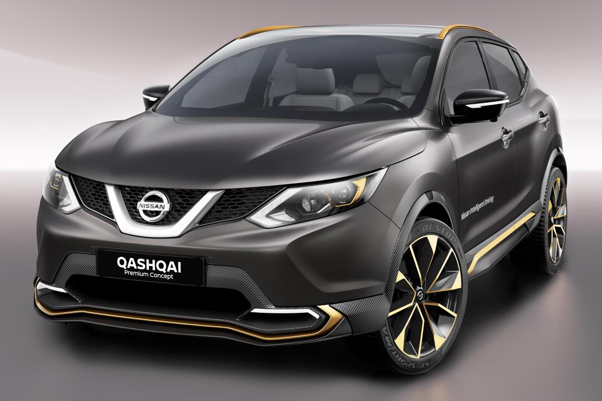Обновленный Nissan Qashqai сможет конкурировать с BMW X1 1
