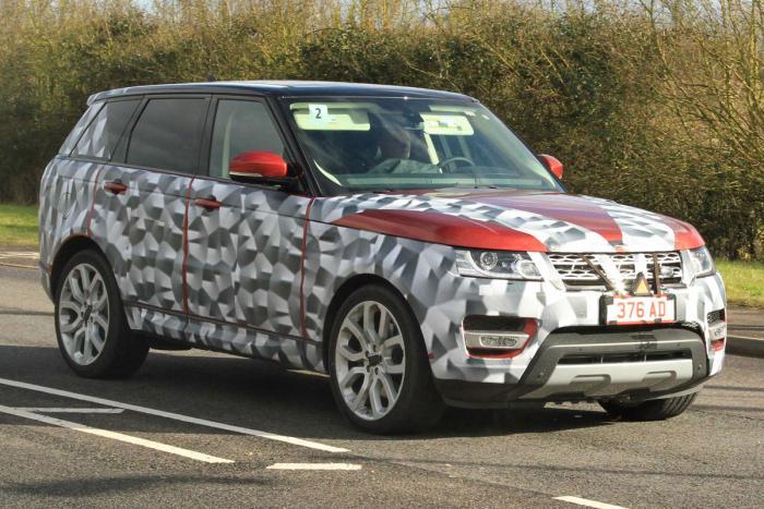 Обновленный Range Rover получил новую «начинку» 1