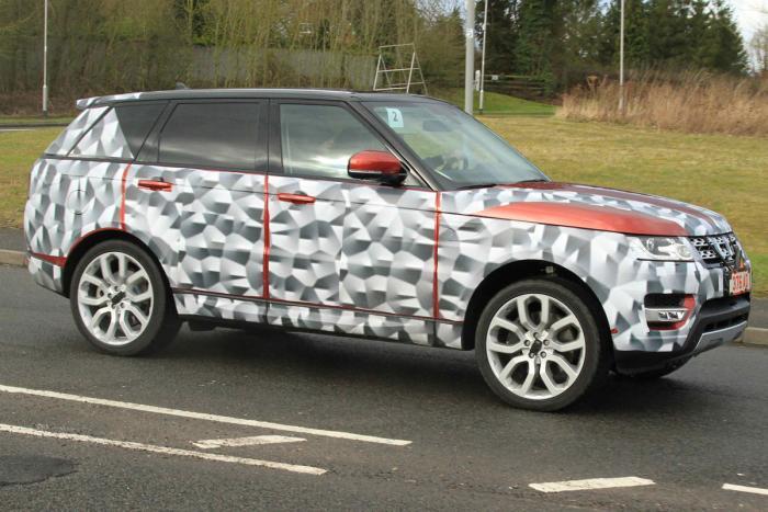 Обновленный Range Rover получил новую «начинку» 2