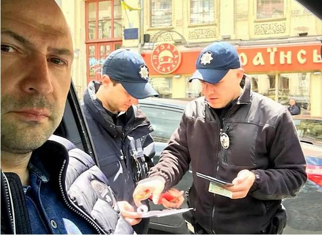 Патрульные оштрафовали первого заместителя главы Киевской области 1