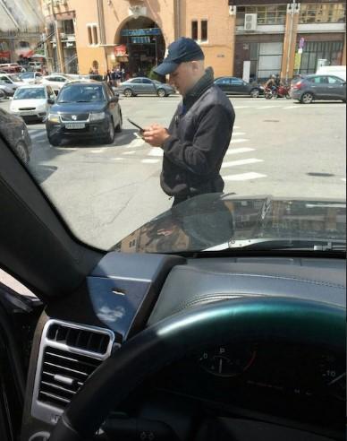 Патрульные оштрафовали первого заместителя главы Киевской области 2