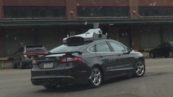 Сервис Uber впервые показал свое беспилотное авто 2