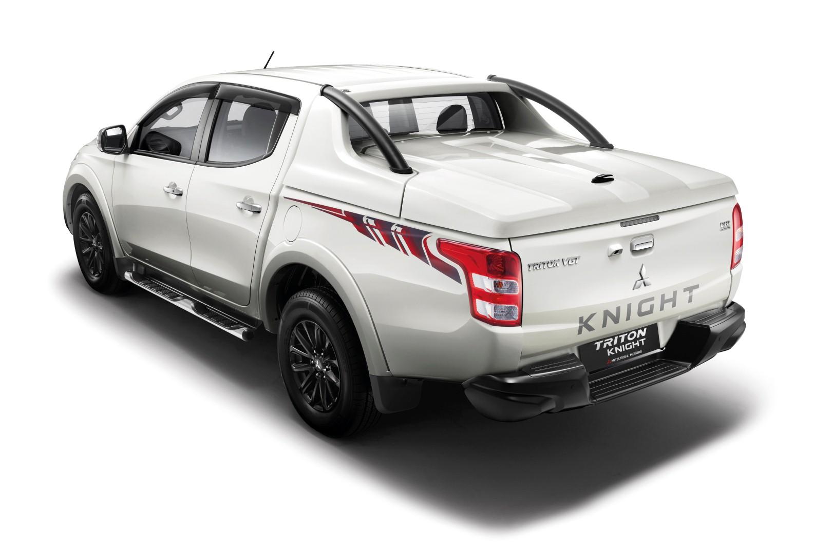 Бренд Mitsubishi презентовал роскошный пикап Triton Knight 2016 2