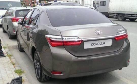В сети опубликованы фотоснимки новой Toyota Corolla 1