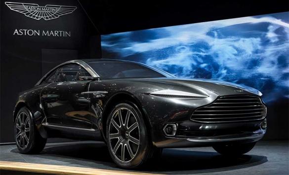 Aston Martin представит свой первый кроссовер в 2020 году 1