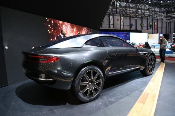 Aston Martin представит свой первый кроссовер в 2020 году 2