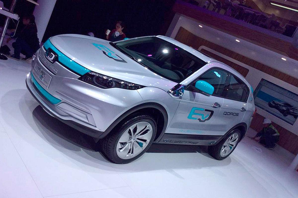 Новый электромобиль способен пройти 350 км на максимальной скорости 3