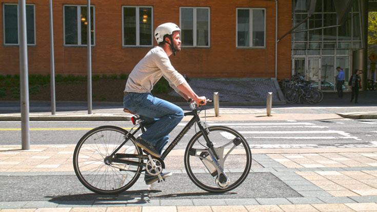 Инженеры превратили велосипед в электробайк 4