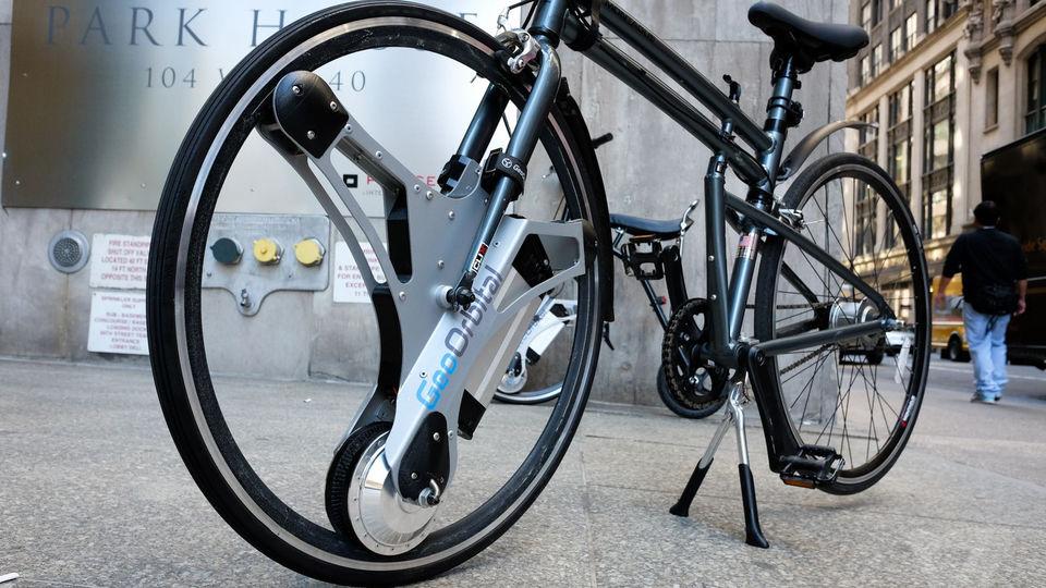 Инженеры превратили велосипед в электробайк 1