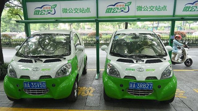 Китайских таксистов пересаживают на электрокары 2