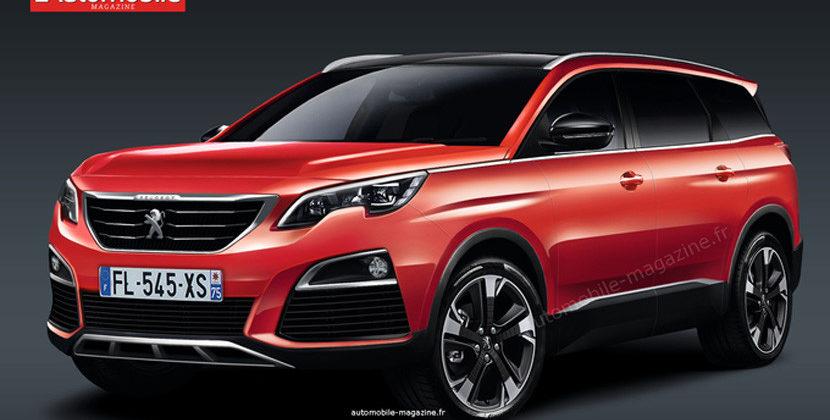 Peugeot выпустит новый кроссовер 1