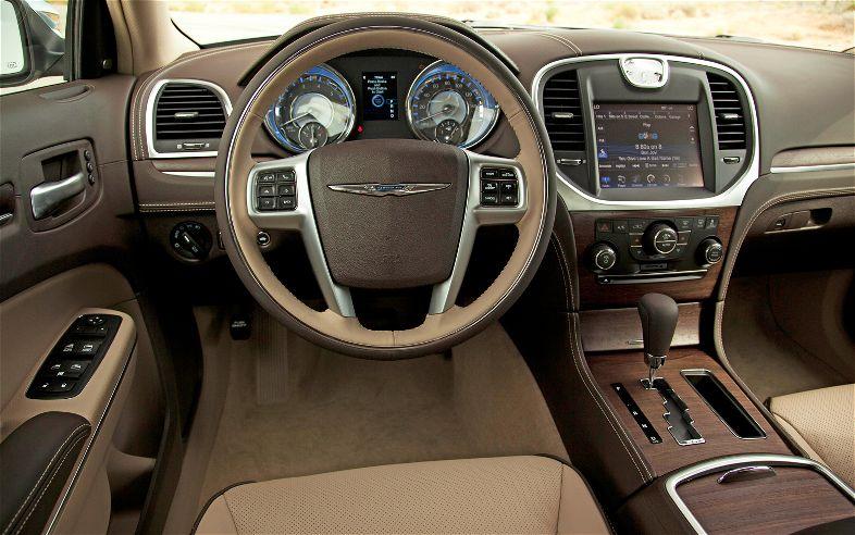 Chrysler 300 получит систему полного привода 3