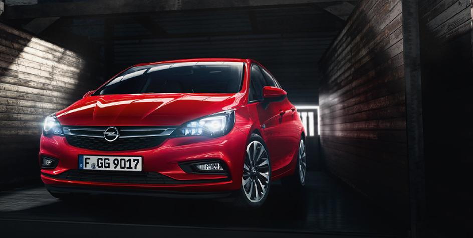 Opel Astra оснастили 1,6-литровым турбодизелем 1