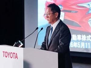 Годовые продажи компании Toyota снизились 1