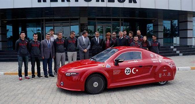 В Турции выпустили концептуальный электрокар 2