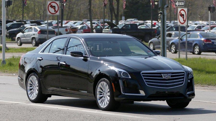Компания General Motors обновит седан Cadillac CTS 1