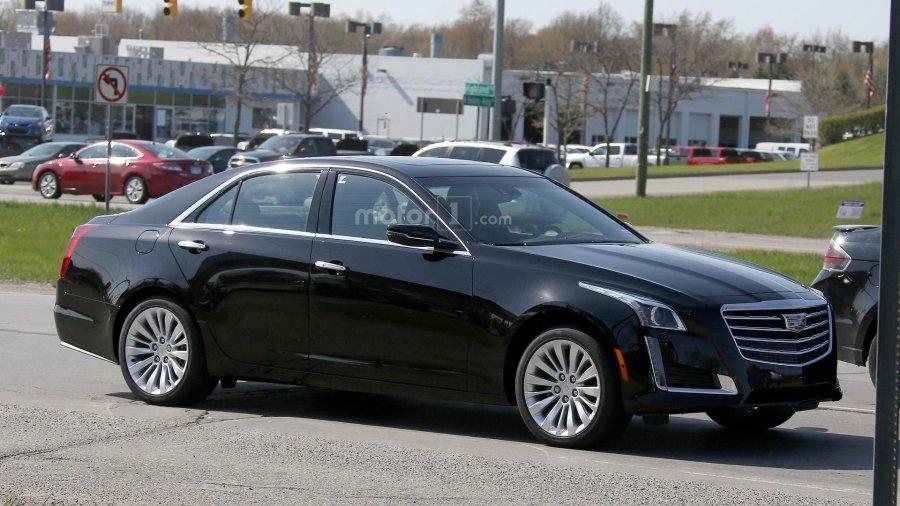 Компания General Motors обновит седан Cadillac CTS 2