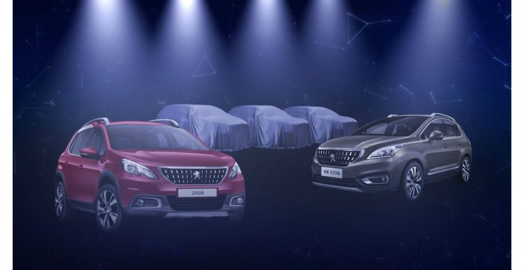 Компания Peugeot анонсировала производство сразу 3 новых кроссоверов 1