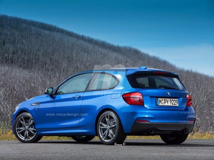 Компания BMW презентует очень маленький хэтчбек 1