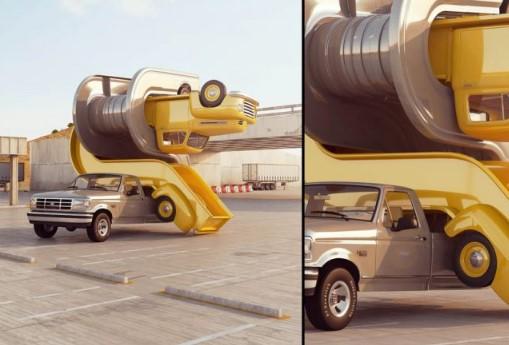 Автомобильное искусство, от которого невозможно отвести взгляд 11
