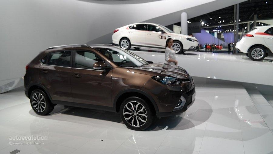 Китайская компания MG представила европейскую версию кроссовера GS 2