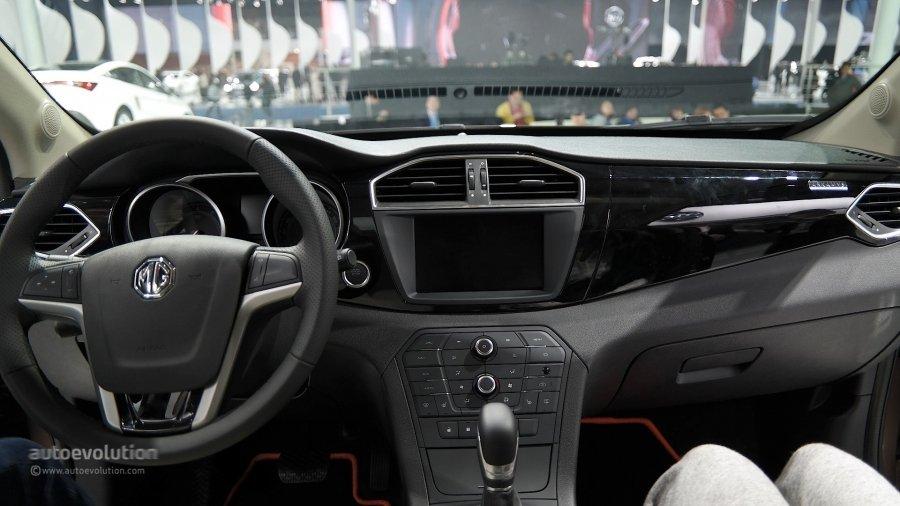 Китайская компания MG представила европейскую версию кроссовера GS 3