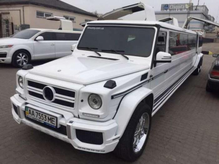 Самый дорогой лимузин Украины выставлен на продажу 1