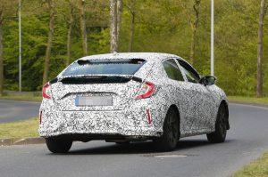 Honda Civic получил 1,0 литровый двигатель 1