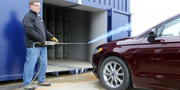Компания Ford создала первый в мире мобильный аэродинамический туннель 1