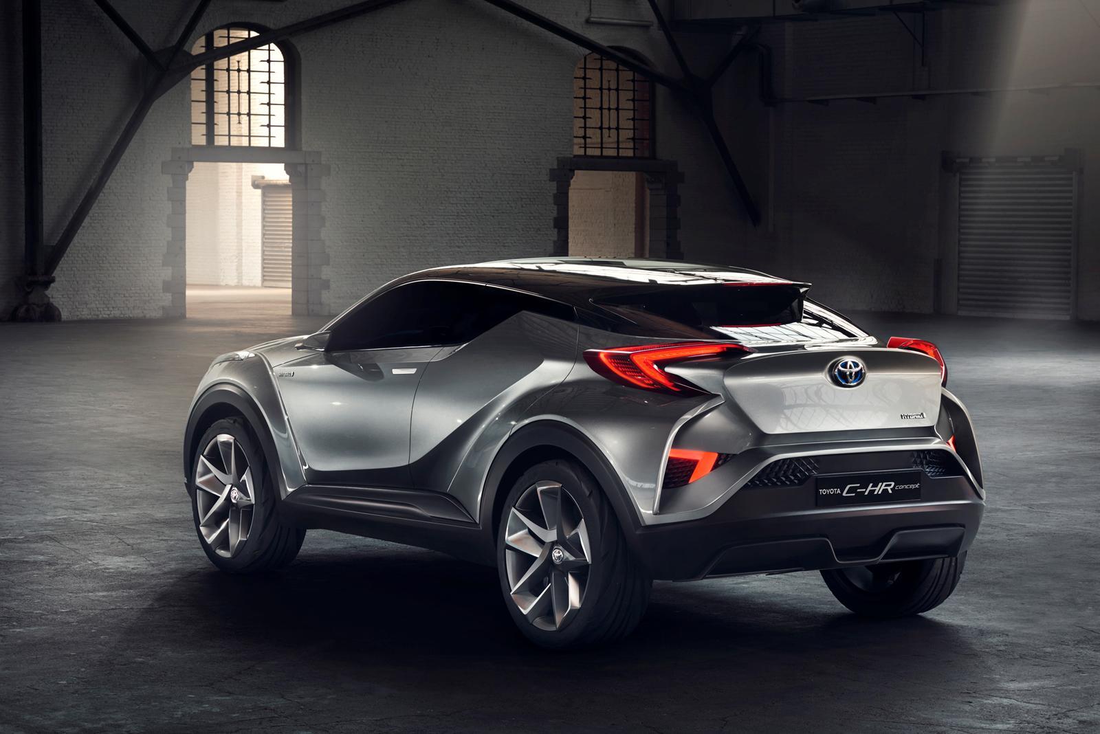 Toyota C-HR получит «горячую» версию 1