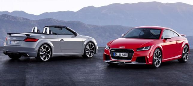 Audi TT RS оснастили 400-сильным двигателем 1