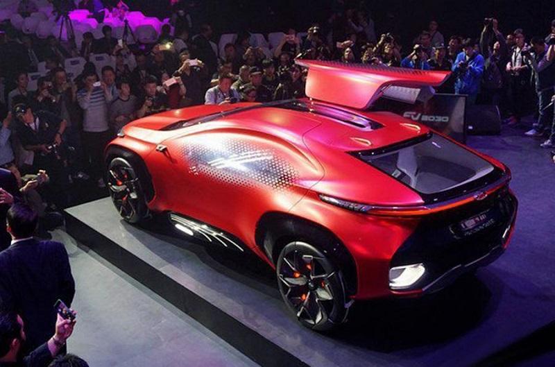 Компания Chery представила футуристический концепт-кар 3