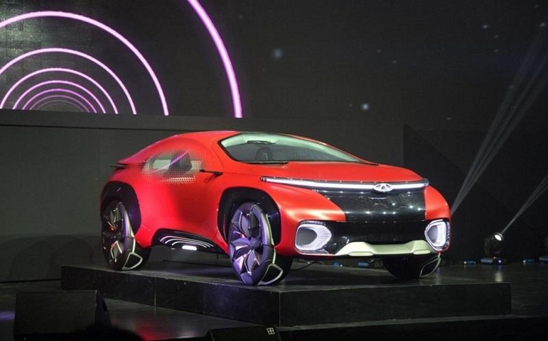 Компания Chery представила футуристический концепт-кар 1