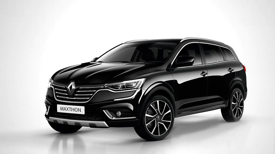Марка Renault представила 5-ти метровый внедорожник 1