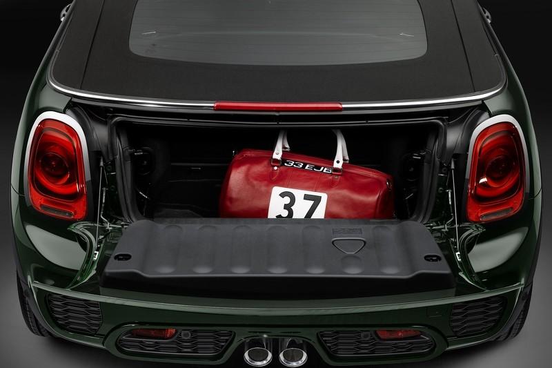 Марка Mini представила «заряженный» кабриолет JCW Cabrio 4