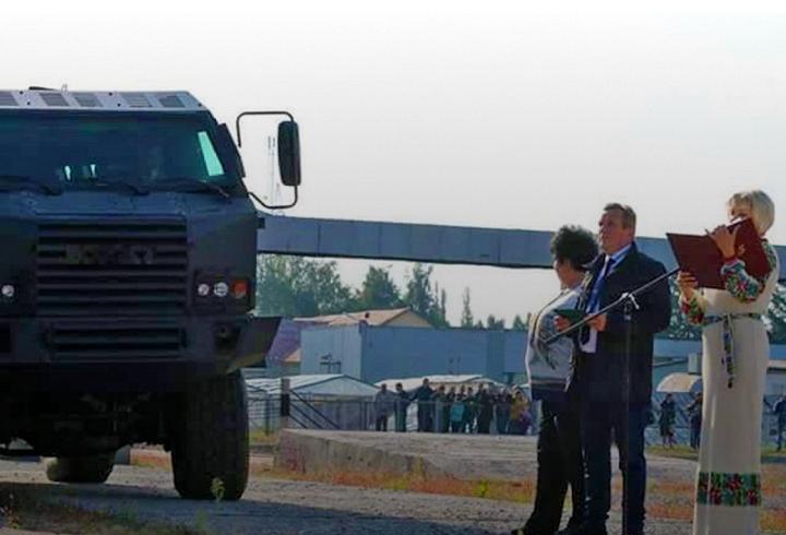 Куда «бросят» новый украинский броневик 2