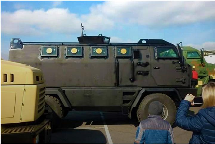 Куда «бросят» новый украинский броневик 1