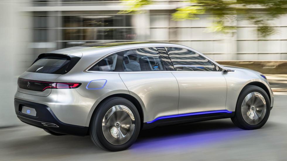 Новый кроссовер Mercedes «работает от розетки» 2
