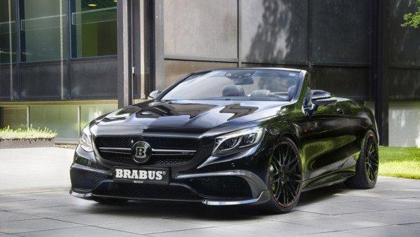 Компания Brabus презентовала фантастический кабриолет 1