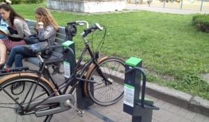 В украинской столице появилась «умная» парковка для велосипедов 1