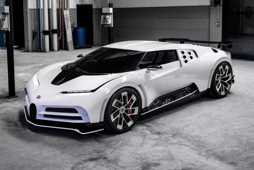 Подарок на 110-летие: обзор Bugatti Centodieci 1