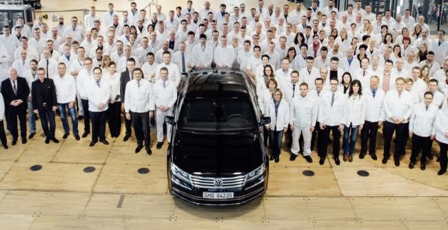 С конвейера сошел последний Volkswagen Phaeton 2